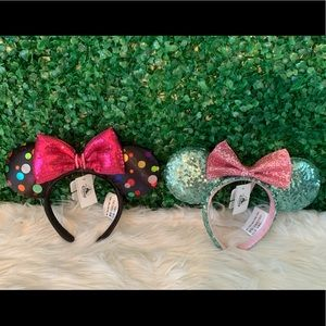 Bundle deal! 2 Disney Mickey/Minnie Mouse Ears